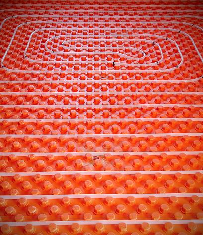 centralne ogrzewanie - ogrzewanie podłogowe