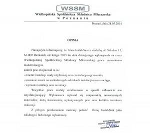 referencje Wielkopolska Spółdzielcza Składnica Mleczarska
